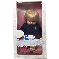 Guca - Caja de muñeco con Jersey Punto Azul Marino y pantalón Pana