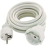 Silver Electronics 9215 - Prolongador Manguera (5 m) Color Blanco