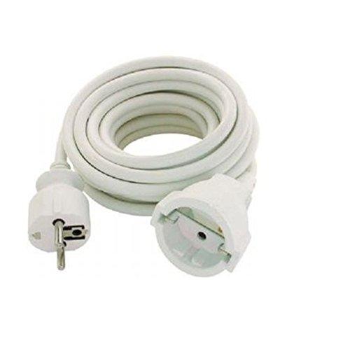 Oferta de Silver Electronics 9212 Alargador eléctrico, Blanco, 2 Metros