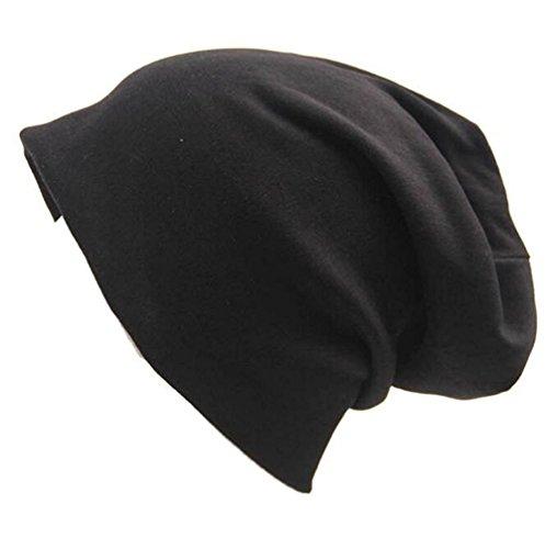 Azue Damen Strickmütze Gr. Einheitsgröße, schwarz (Beanie Knit Orange Infant)