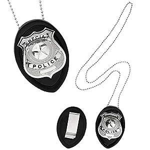 WIDMANN wdm05860?Collar Insignia policía Clip On, multicolor, talla única