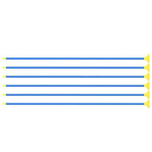 Dilwe Niños Succionan Flechas 6Pcs Flechas Seguras Creativas de Juego Flechas de...
