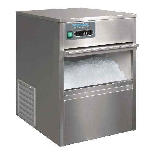 419ZVotUfYL. SS500  - Polar Under Counter Ice Cube Maker Machine Commercial Stainless Steel 20kg/24hr