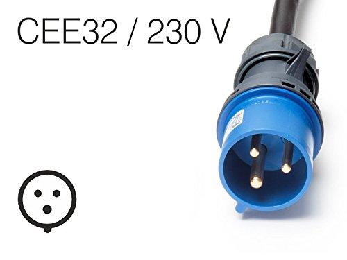 Juice Technology EA-JCB2 adattatore per presa di corrente Nero, Blu