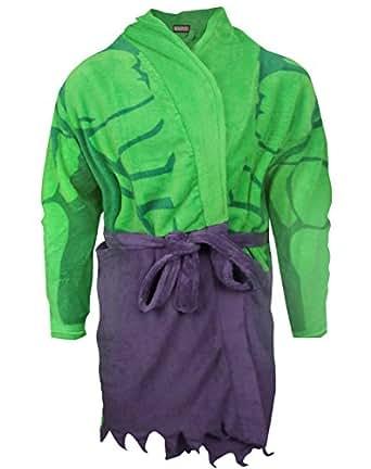 official unisex adulte the hulk peignoir de bain v tements et accessoires. Black Bedroom Furniture Sets. Home Design Ideas