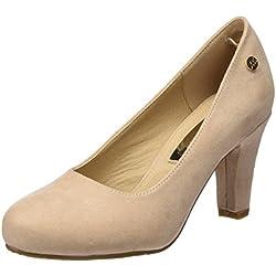 XTI Damen Zapatos De Tacón Stöckelschuh, Nude, 39 EU