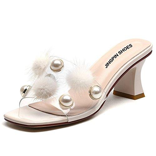 Estate ruvida con sandali di moda/Fuori le pantofole B
