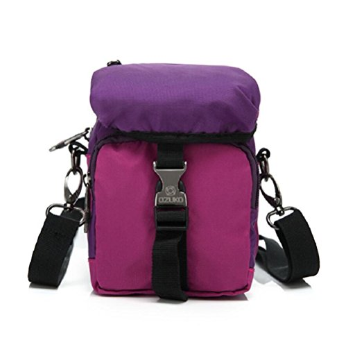 Z&N Kreative Art und Weise kleine Taschen hängende Tasche Kurierbeutel beiläufiger Bügel-Schulterbeutel Spielraumbeutel täglicher Gebrauch der Männer und der Frauen beweglich purple