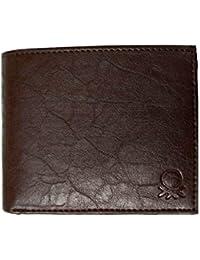 VINIK Men's Genuine Leather Wallet(Tan)