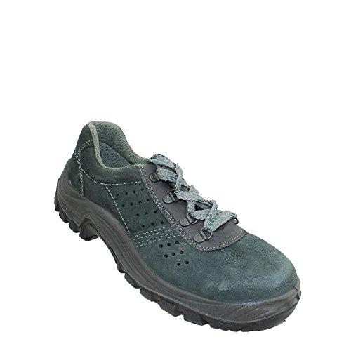 Auda tonga sA s1P chaussures de travail chaussures chaussures berufsschuhe businessschuhe plat vert Vert