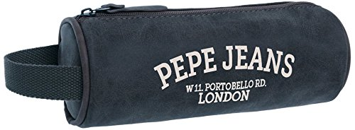 Pepe Jeans Graves Neceser de Viaje, 1.86 Litros, Color Azul