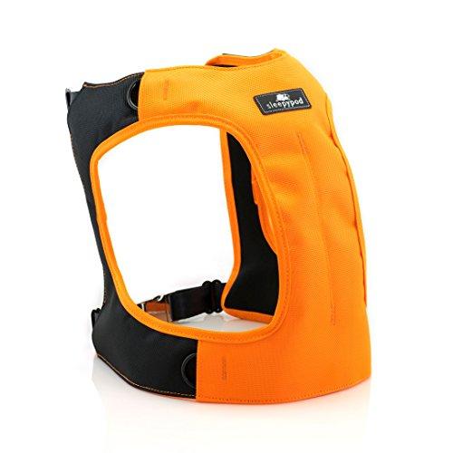 Sleepypod Clickit TERRAIN Auto-Sicherheitsgurt Sicherheitsgurtgeschirr für Hunde (XL, Orange Dream) (Orange Patch Hund)