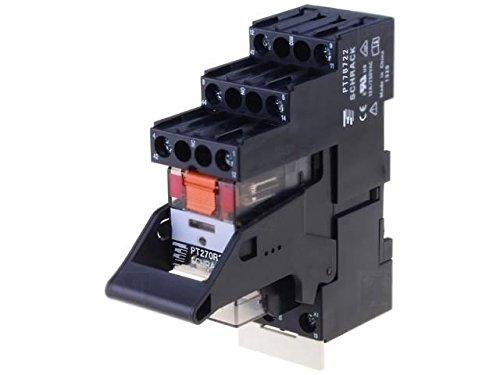 PT2L7RC4 Relay interface DPDT Ucoil24VAC 12A 12A/250VAC 12A/30VDC 9-1415534-0