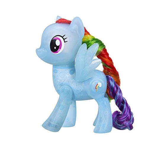 My Little Pony- C1819ES00 -Pony -beleuchtet und interaktiv-Rainbow Dash (My Watch Little Pony)
