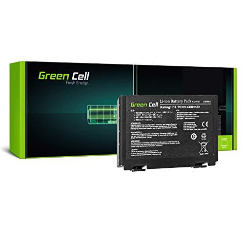 Green Cell Standard Serie A32-F82 A32-F52 Batteria per Portatile Asus K40 K40iJ K50AD K50AF K50iD K50iE K50iL K50iP K70AB X5DC X70 (6 Pile 4400mAh 10.8V Nero)