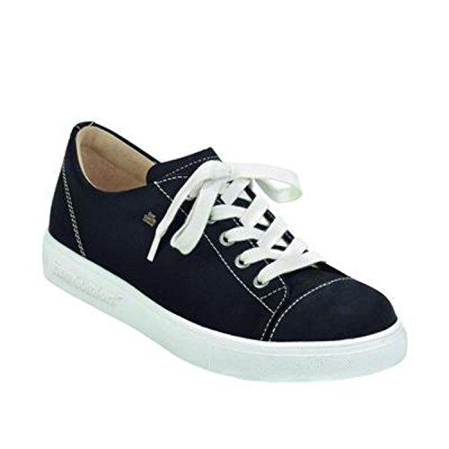 Finn Comfort 02476046099, Chaussures de Ville à Lacets Pour Femme Noir