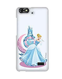 Pick Pattern with Exclusive DISNEY Characters Back Cover for Huawei Honor 4C