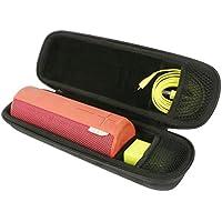 """""""Khanka EVA Difficile Cas Voyage Porter Sac pourUltimate Ears UE BOOM 2 Portable Mobile Bluetooth Sans fil Des enceintes, Convient Chargeur et Câbles """""""