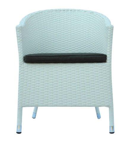 Nancy fauteuil blanc