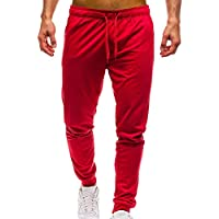 Geili Sporthose Herren Lang Männer Modern Einfarbige Taschen Kordelzug Jogginghose Slim Fit Gym Yoga Trainingshose... preisvergleich bei billige-tabletten.eu