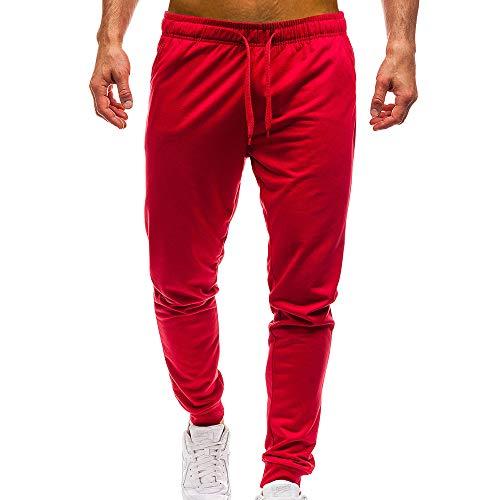 Longra Pantalón Deporte para Hombre, Hombre Chandal Bottoms Ropa De D