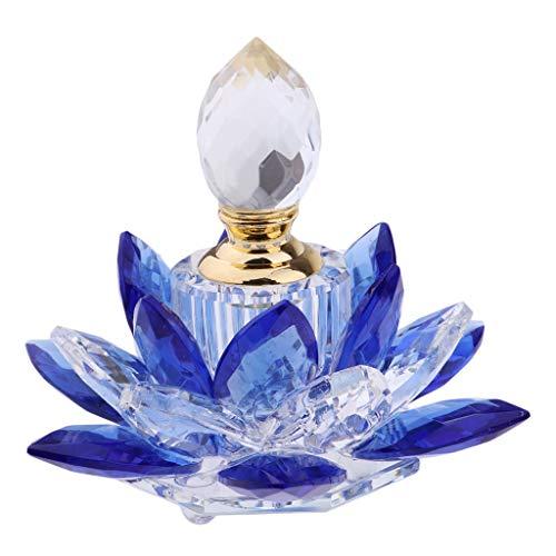 perfeclan 5ml Kristallglas Parfümflasche Zerstäuber Parfümzerstäuber Kristall-Parfüm-Flasche - Kristall Parfüm Duft Flasche