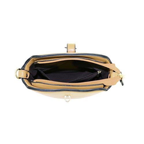LYDC, Borsa a tracolla donna navy Navy Gold