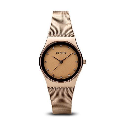 BERING Damen-Armbanduhr Analog Quarz Edelstahl 12927-366