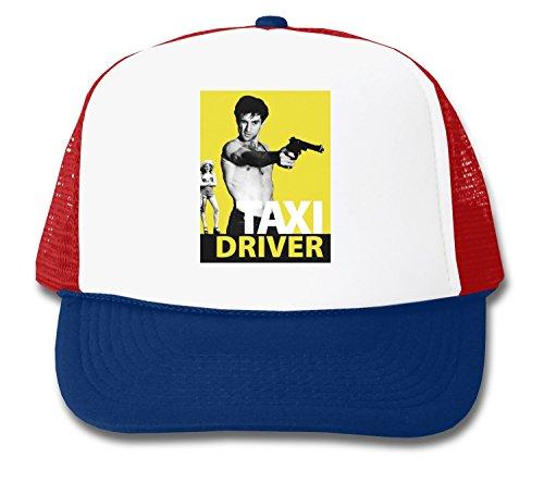 Taxi Driver De Niro With Gun Design Trucker - Cap Taxi Driver