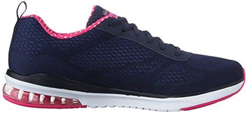 Marine Sneaker Blu Infinity Skechers basse Skech Bleu donna Rose Air qSnO78
