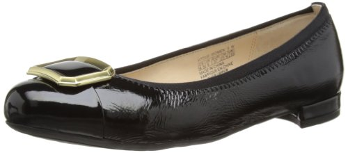 Rockport Atarah Buckle Pump Black, Ballerines femme Noir (Black)