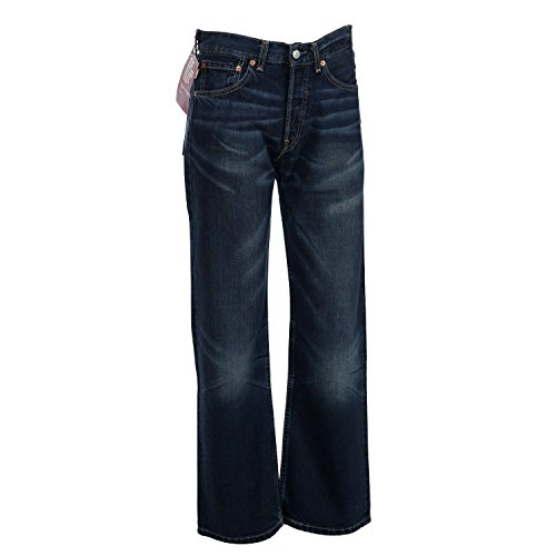 Levis Herren Jeans, Herrenjeans 508 Loose, Low Fit, Darkblue 508.04.34, Größe:W28/L32 (Loose Levis Fit Jeans)