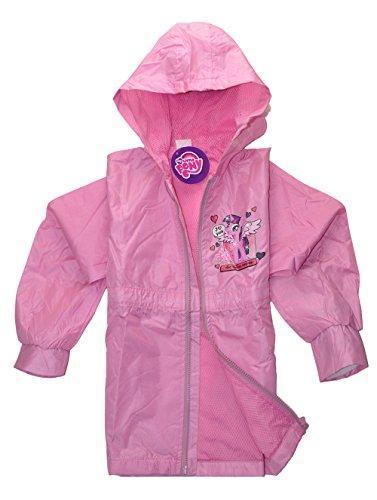 Offizielle My Little Pony Lizenzprodukt Wasserdicht Regen Jacke Mantel für Mädchen | Main Bild zu zeigen, verschiedene Stile Gr. 98 cm, design 2 (Little Mädchen Pony Jacke My)