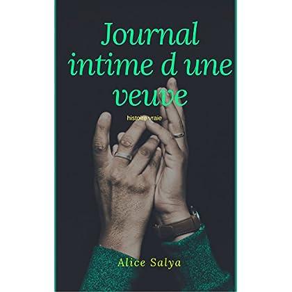 JOURNAL INTIME d UNE VEUVE