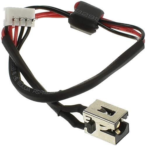 Laptop Parts UK (UK VAT Registered) Toshiba Satellite C660-207 DC Power Jack, Strombuchse, Buchse, Netzteilbuchse mit Kabel -