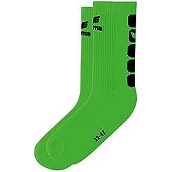 ERIMA Socks 5Cubes Green Green/Schwarz Size:31-34 by Erima