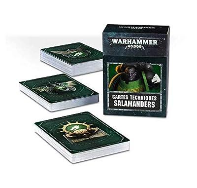 Games Workshop Cartes Techniques - Salamanders 53-50-01 - Français - Warhammer 40,000
