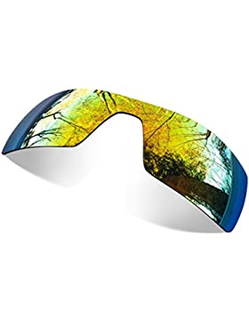 Sunglasses Restorer Lentes Polarizadas con Grabado Laser de Recambio Fire Iridium para Oakley Oil Rig