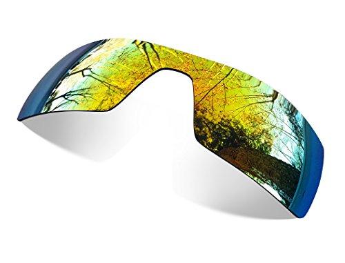 sunglasses restorer Kompatibel Ersatzgläser Für Oakley Oil Rig (Polarisierte Fire Iridium)
