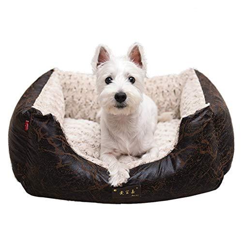 Haustier im Herbst und Winter waschbar Doghouse Pad-A 98x76cm
