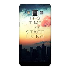 Its Start Living Back Case Cover for Galaxy Grand 3