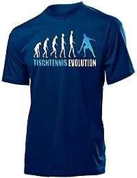 Sport - TISCHTENNIS EVOLUTION - Cooles Fun T-Shirt Herren S-XXL