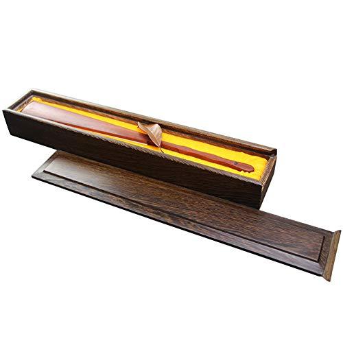 GWXLD Caja De Regalo con Ventilador Plegable A Mano - Caja De Madera con Protector Solar A Prueba De...