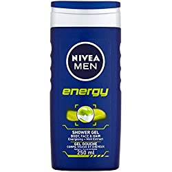 Nivea Bath Care Shower Energy, 250ml