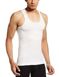 VIP Mens Cotton Vests (Pack of 3) (8901377963306) (SUPREME-RN-80-White)