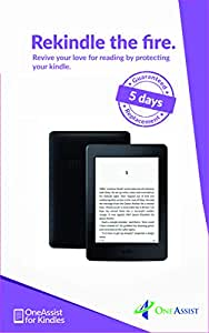 OneAssist 1 Year Total Protection Plan for Kindle Paperwhite WiFi (7th Gen) - 5 Days Replacement Guarantee