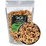 GreenFinity: Walnut Kernels - 500Gms | Grade - 8 Pieces, Broken | Akhrot Giri California Without Shell | Vacuum Pack | Premium Quality.
