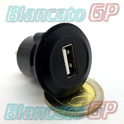 Toma USB empotrable Panel 22 mm Tipo A B Hembra Conector Coche...