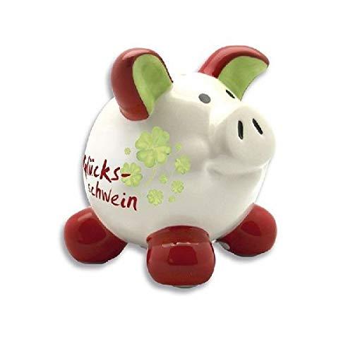 Unbekannt 1 Swiggie Glücksschwein Spardose Swiggie Sparschwein klein ca 7,5 x 7,5 cm
