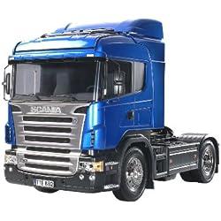 Tamiya 300056318 Scania R470 Highline - Camión radiocontrol (escala 1:14, para montar)